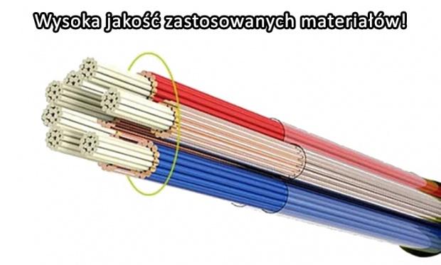 APPACS KABEL MICRO USB NYLON 2.4A (SZYBKIE ŁADOWANIE) SZARY DO SMARTFONÓW, TABLETÓW, ETC 1 METR